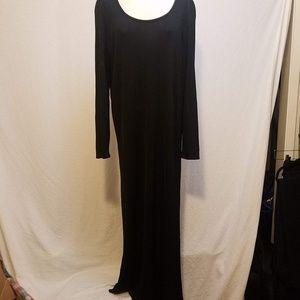 EILEEN FISHER Long Sleeve Maxi Dress